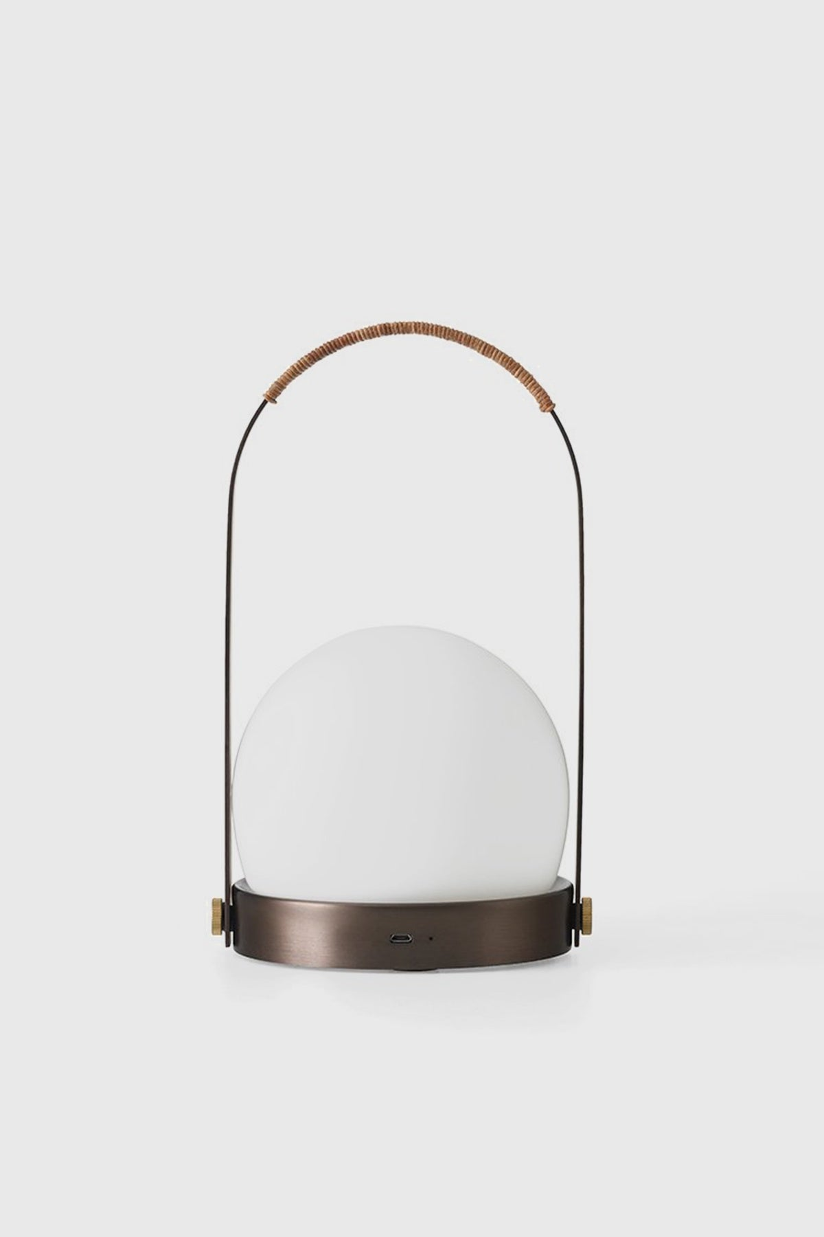 Carrie LED Lamp - Bronzed Brass