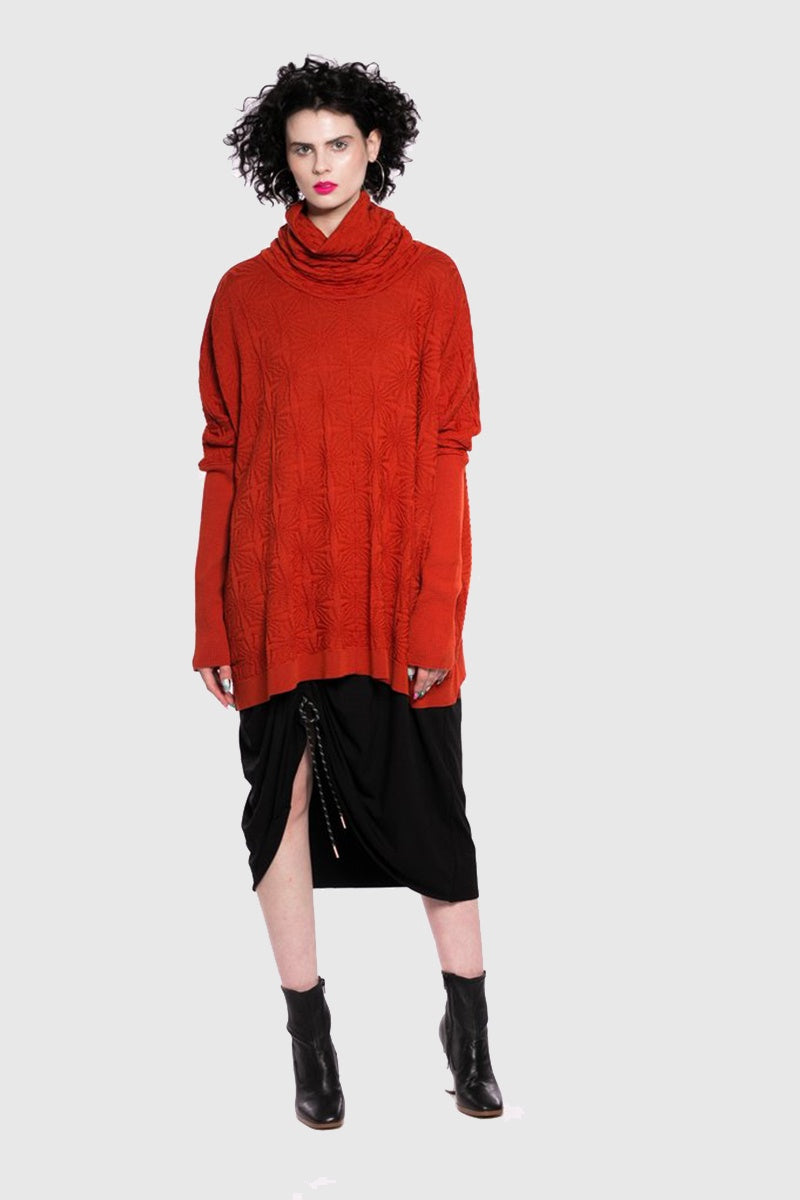 Impression Jumper - Tangerine