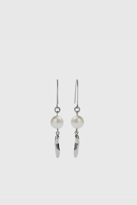 Dune Drop Earrings - Sterling Silver