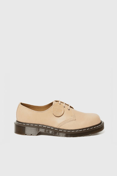 1461 Essex Veg Tan Leather Shoes - Natural