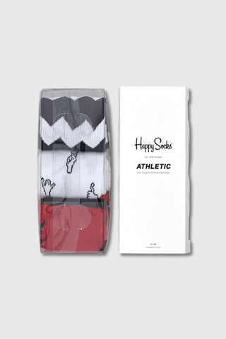 Athletic Gift Box - Black/Red/White