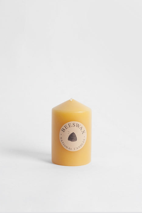 65x100mm Pillar Candle - Beeswax