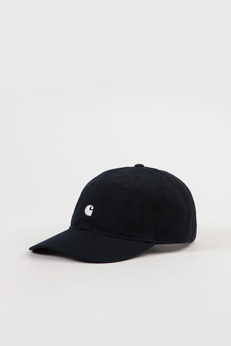Madison Logo Cap - Black / Wax