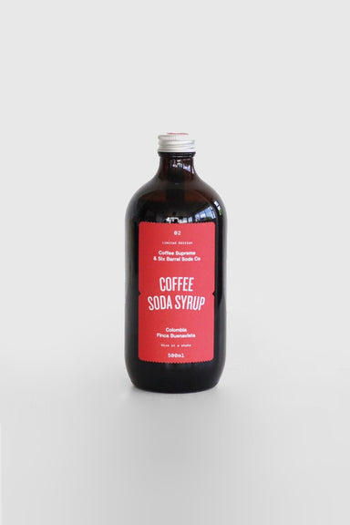 Coffee Soda Syrup 500mL