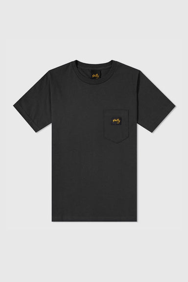 Stan Pocket Tee - Black