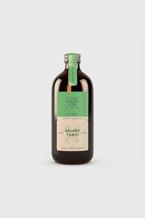 Celery Tonic Soda Syrup 500ml
