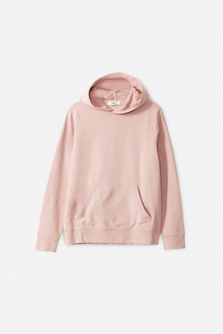 Mike Hooded Sweatshirt - Misty Rose