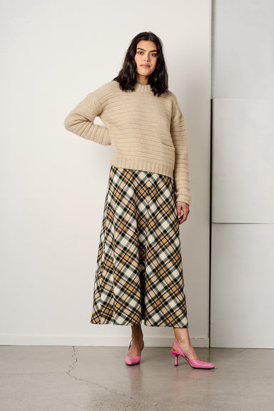Lydia Skirt - Plaid Flannel