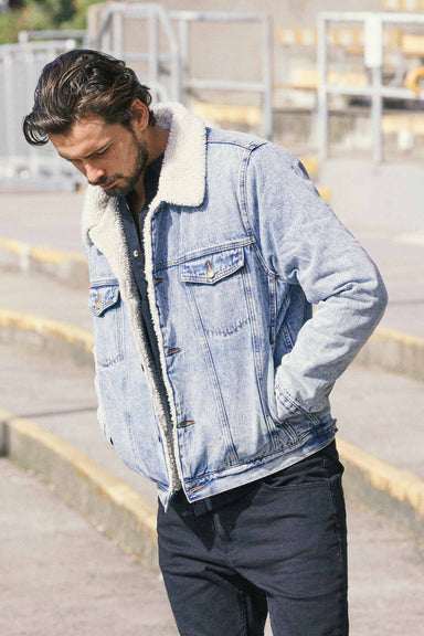 Denim Sherpa - Original Stone