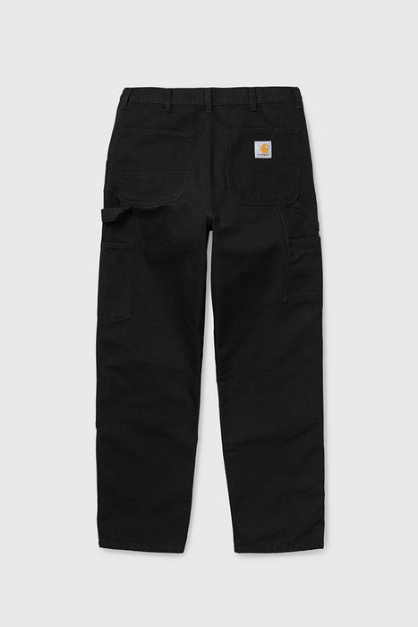 Double Knee Pant - Black Rinsed