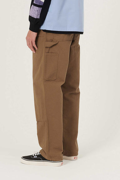 Double Knee Pant - Hamilton Brown Rinsed