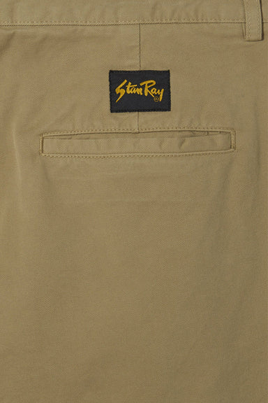 Double Pleat Chino - Khaki Twill
