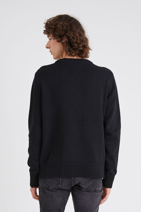 Strummer Knit - Washed Black
