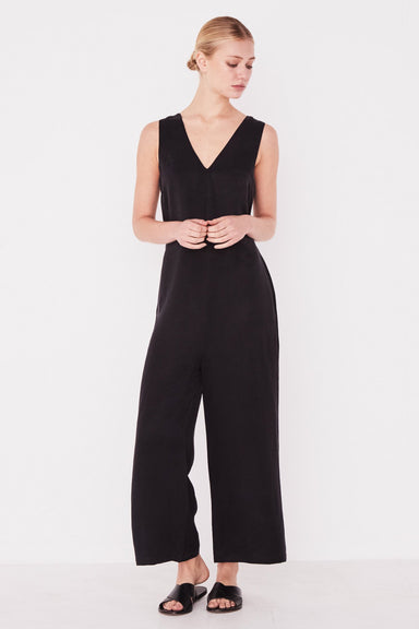 Column Jumpsuit - Black