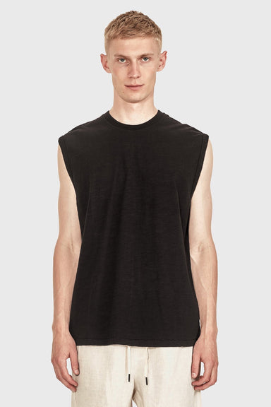 Men's Relaxed Tank - Vintage Black
