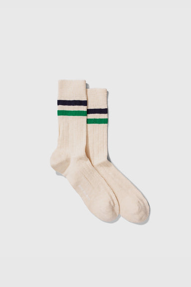 Bjarki Slub Stripe - Sporting Green