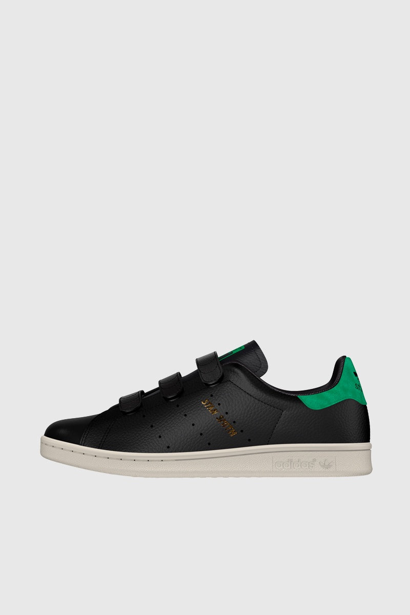 Stan Smith CF - Core Black / Black / Green