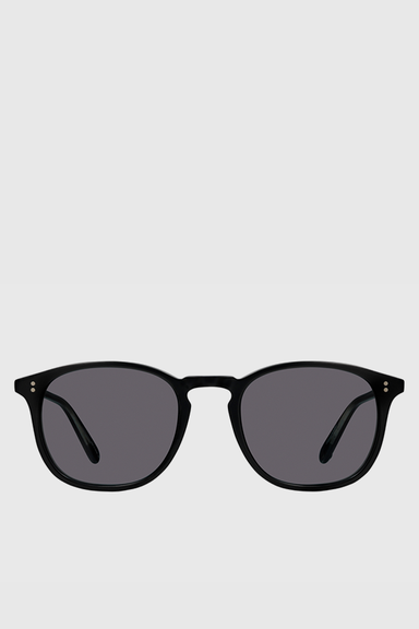 Kinney Sun 49 - Matte Black / Semi-Flat Blue Smoke