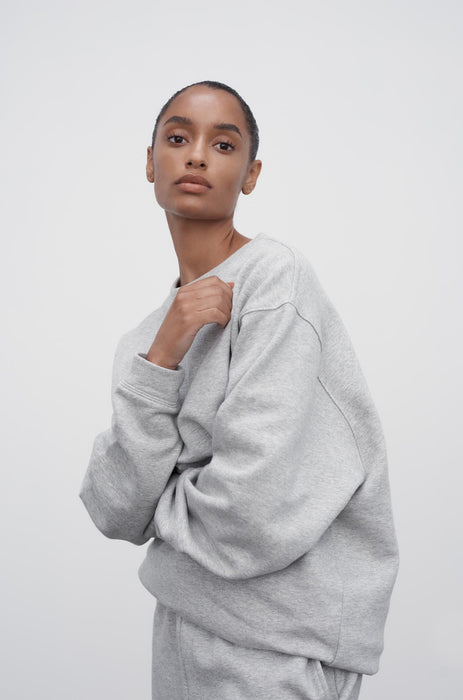 Jossi Sweater - Grey Marle