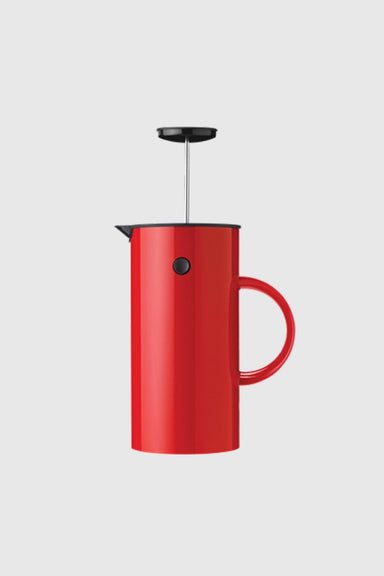 EM Press Coffee Maker - Red