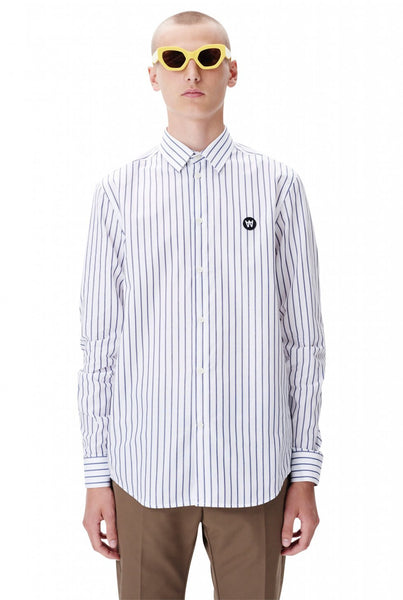 Desmond Shirt - Navy Stripe
