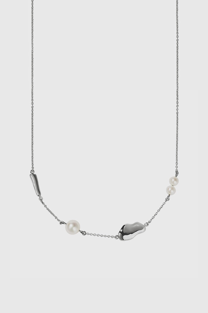 Thea Necklace - Sterling Silver