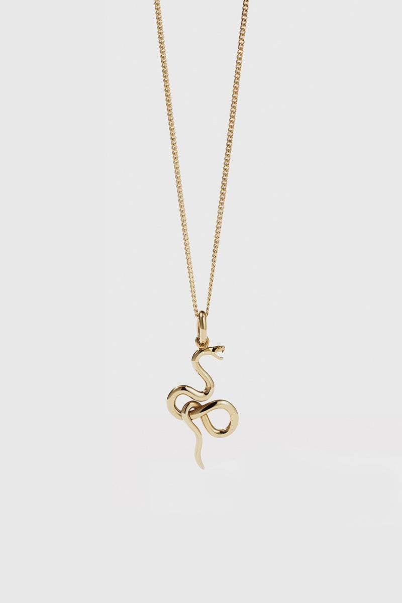 Medusa Necklace - Gold Plated