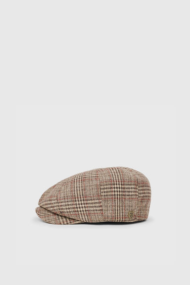 Brood Snap Cap - Khaki Plaid