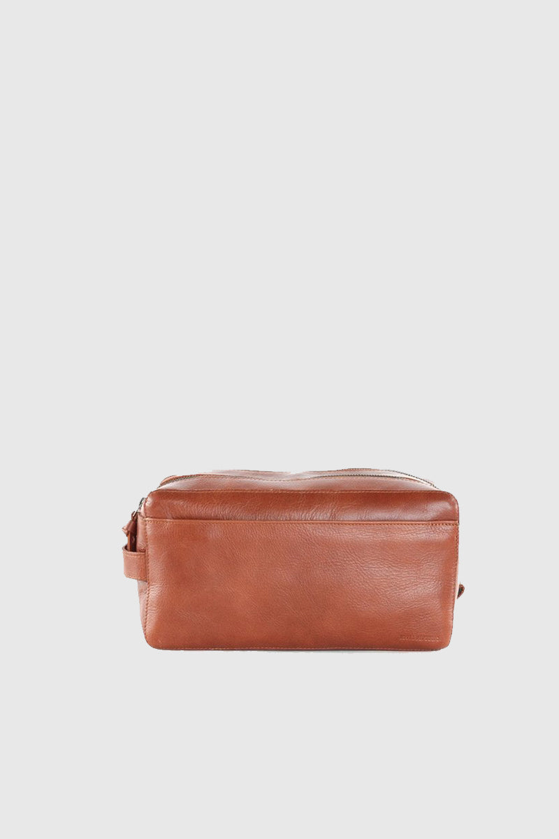 Gemin Toilet Bag - Cognac