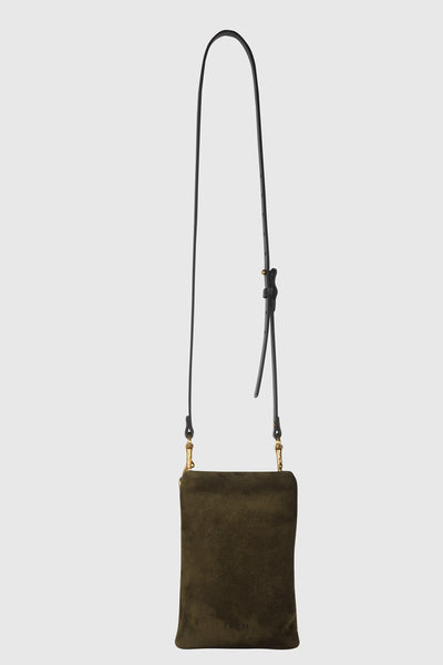 1/8 Kat Pouch - Hunter Suede
