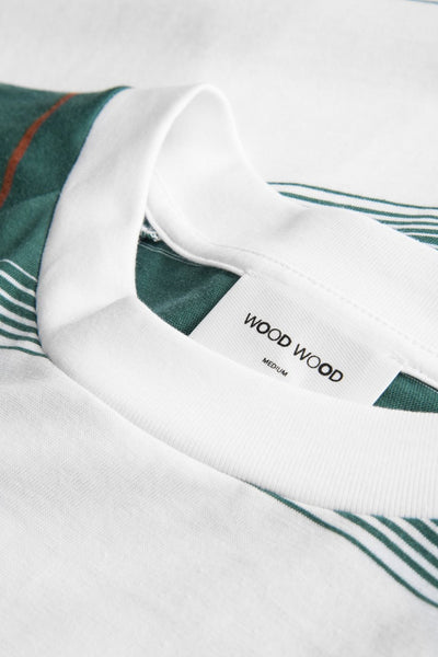 Han Long Sleeve -  Bright White/Stripe