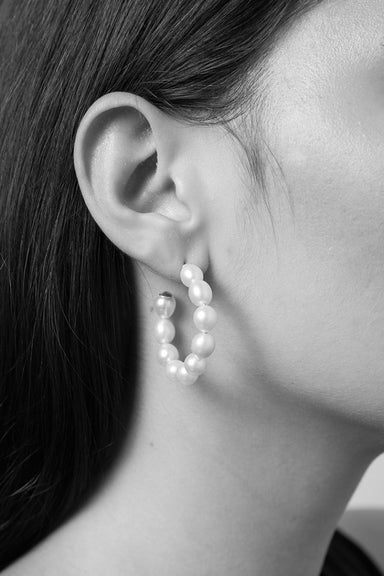 Juliet Hoop Earrings - Sterling Silver