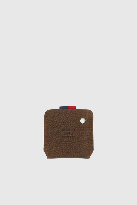 Keychain - Tile/Brown Pebbled Nubuck