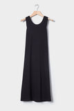 Building Block Twist Back Dress - Black