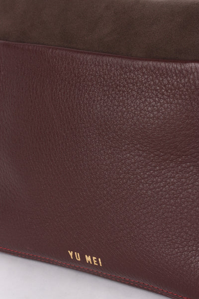 2/6 Lise Clutch - Bordeaux