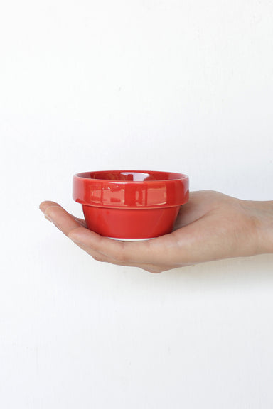 Block Bowl Little - Red