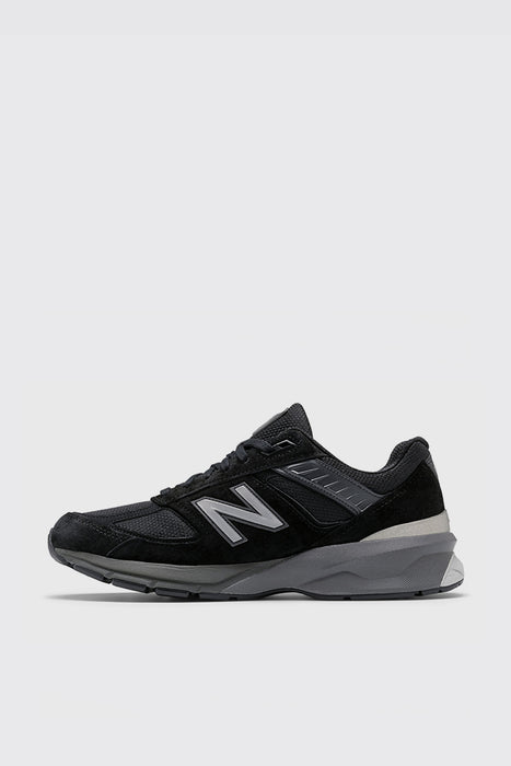 Men's 990v5 Made in US - Black/Silver