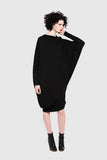 Screen Dress - Black
