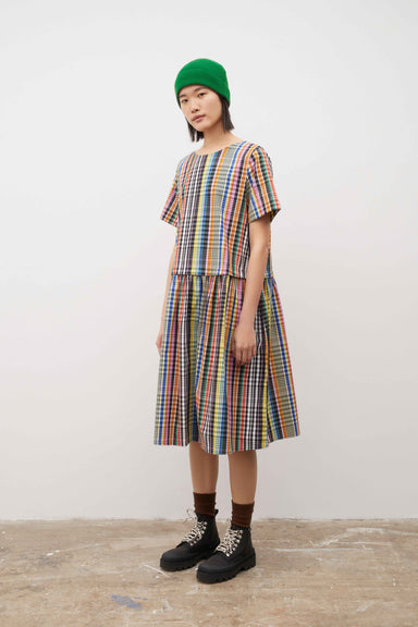 Mariette Dress - Checks