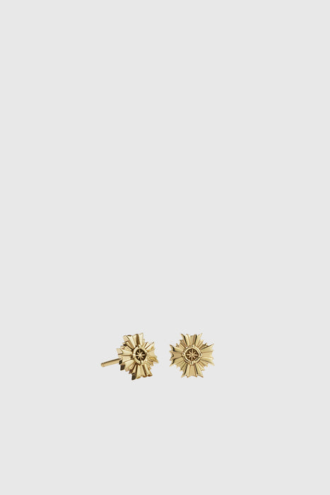 August Stud Earrings - Gold Plated
