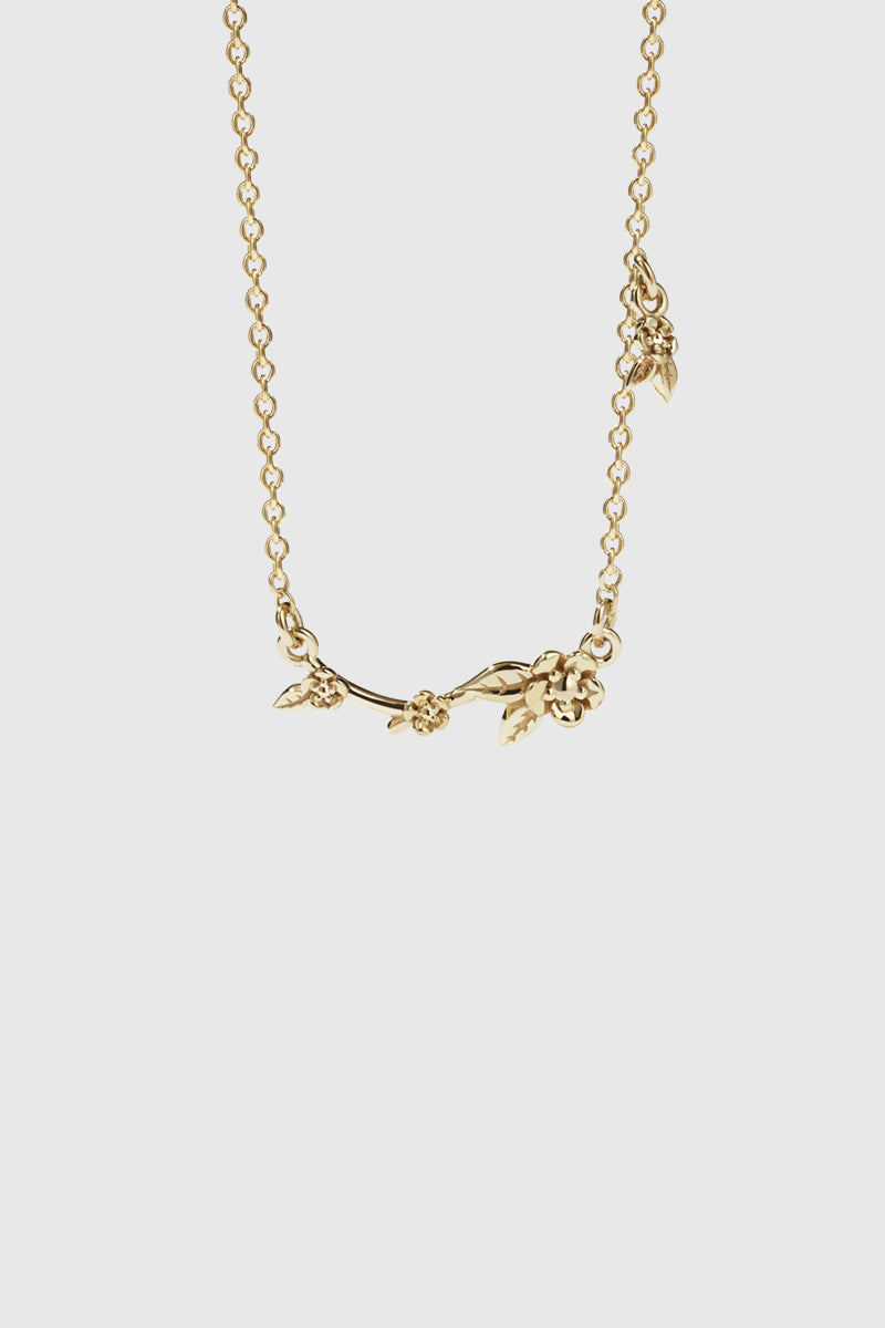 Alba Vine Necklace - Gold Plated