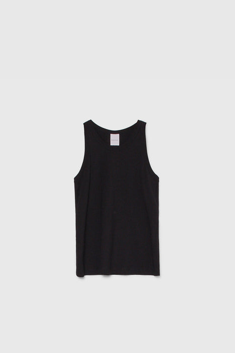 Racer Back Singlet - Black