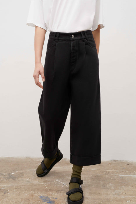 Worker Jeans - Black Denim
