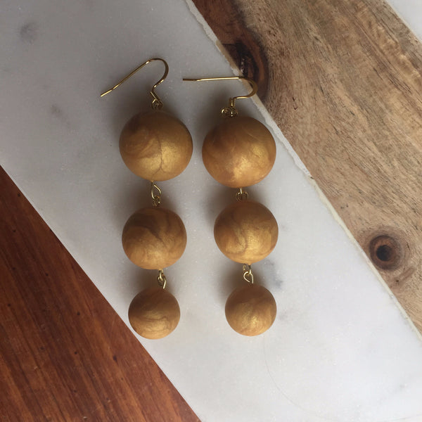 Gold 3 baubles