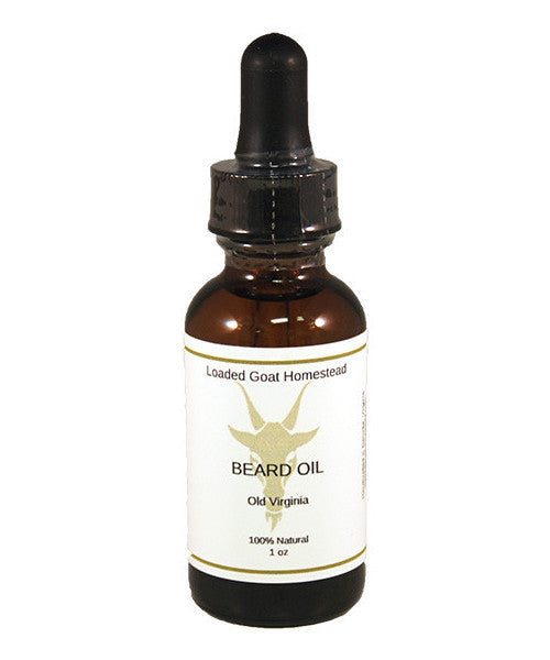 Beard Oil - Old Virginia - 1 oz