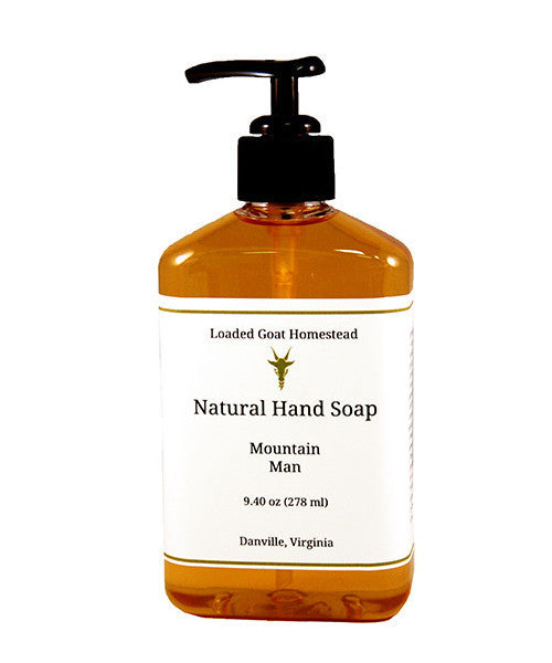Hand Soap - Mountain Man - 9.4 oz