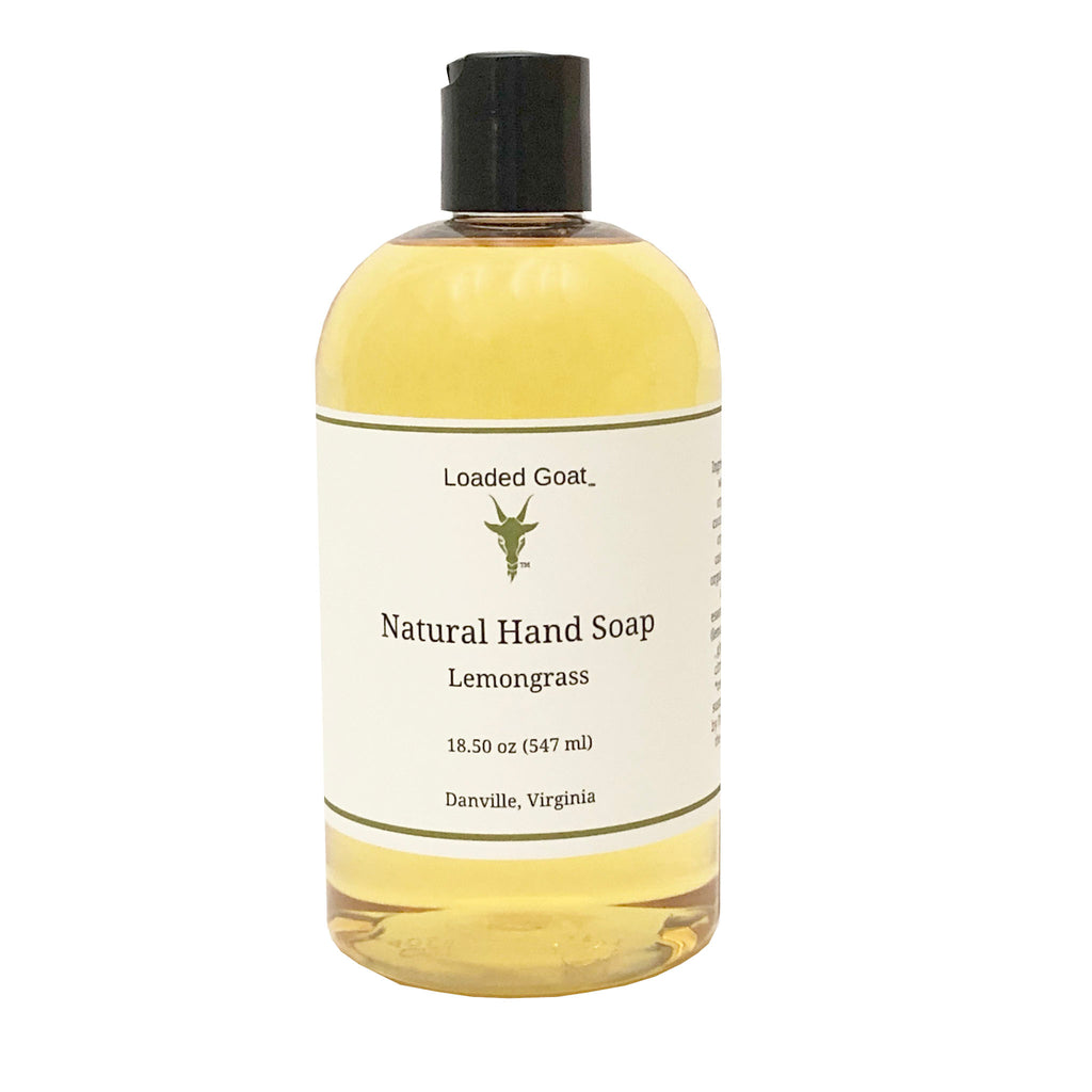 Hand Soap - Lemongrass - 18 oz