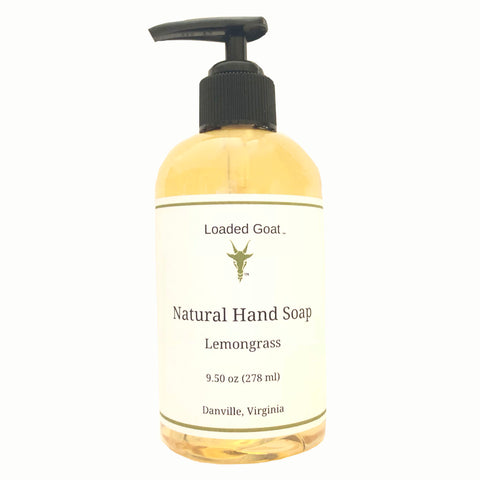 Hand Soap - Lemongrass - 9.4 oz