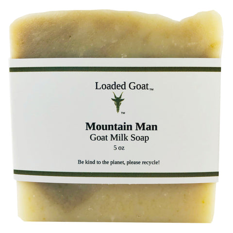 Goat Milk Soap - Mountain Man