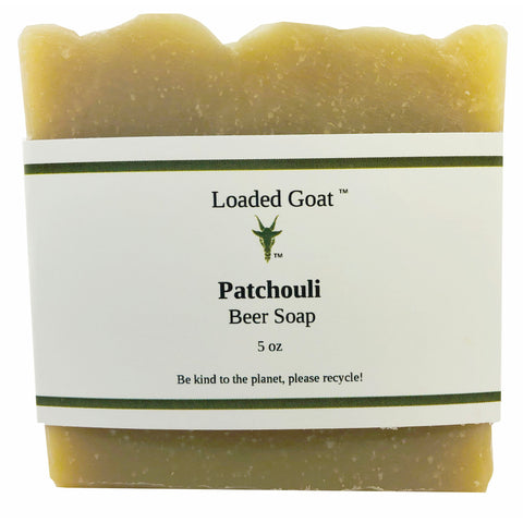 Beer Soap - Patchouli